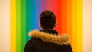LGBTQ Youth hiding in fear.